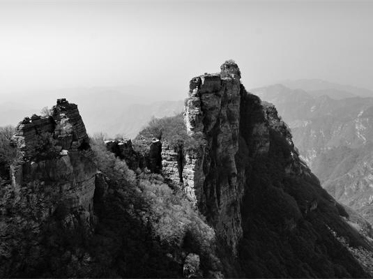 白石山风景区旅游景点风景
