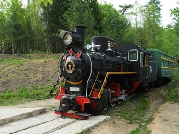 五营国家森林公园小火车