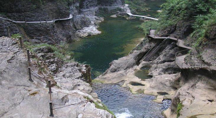 古苗河旅游景点风景