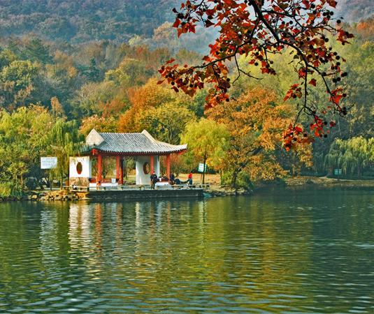 紫霞湖旅游景点风景