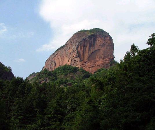 翠微峰自然保护区旅游景点风景